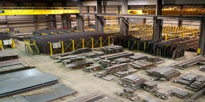 360tons ASTM A709Gr36 steel plate project