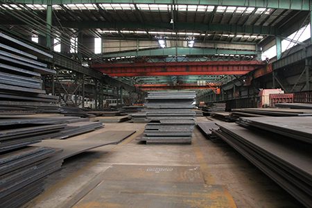 ASTM A588 Grade B atmospheric corrosion resistant steel plates