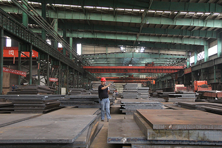 DIN17100 ST52-3 structural steel plate