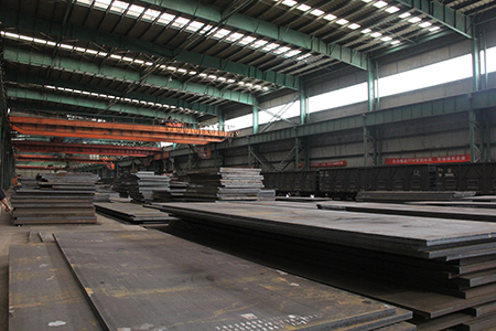 JIS G 3106 SM520B hot rolled structural steel plates