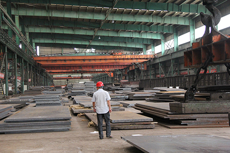 JIS G 3106 SM520C hot rolled structural steel plates
